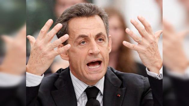 """Nicolás Sarkozy: fue un """"error"""" aceptar a Grecia en la Eurozona"""