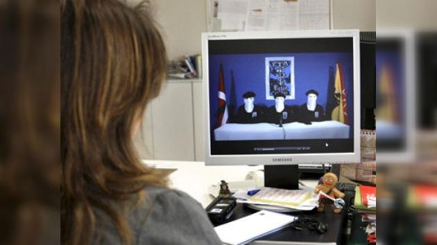 """ETA propone una verificación """"informal"""" internacional de su alto el fuego"""
