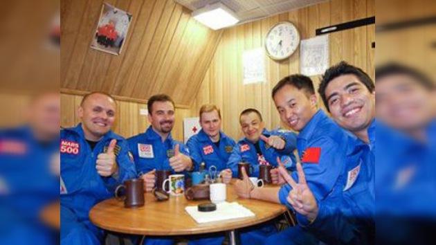 En dos días el primer astronauta de Mars-500  'pisará' el 'planeta rojo'