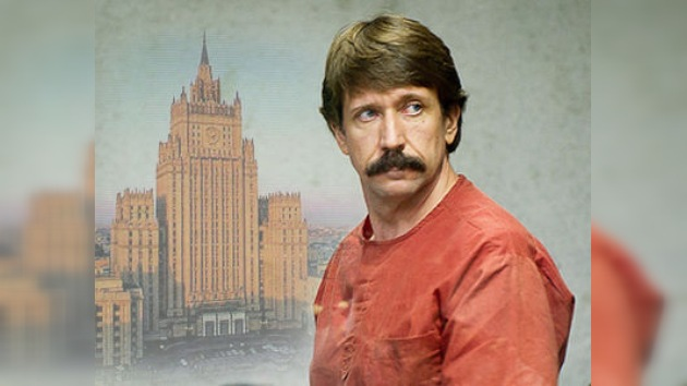 Moscú pugnará por el retorno a casa del empresario Víktor Bout