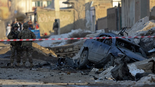 Afganistán: Un coche bomba mata a cuatro contratistas de la OTAN