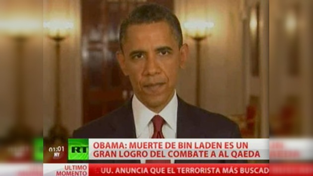 Obama confirma la muerte de Bin Laden