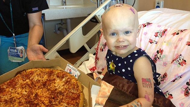 Pizza para una niña con cáncer o una historia sobre la generosidad humana