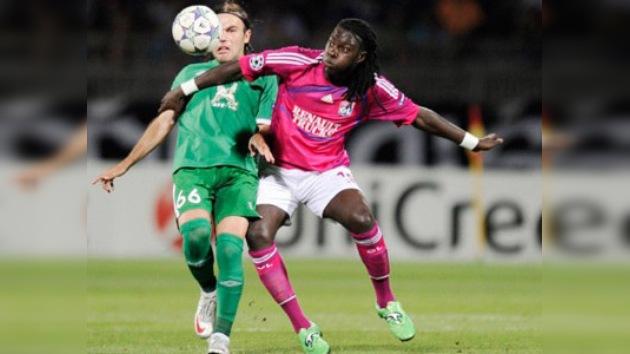 Champions: Rubín cae en el partido de ida frente al Lyon, pero confía en la remontada