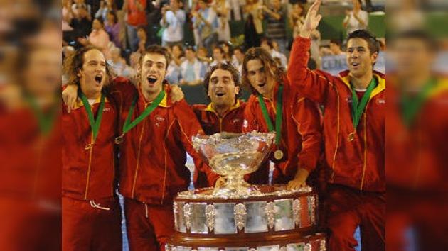 La selección española de tenis gana su cuarta Copa Davis
