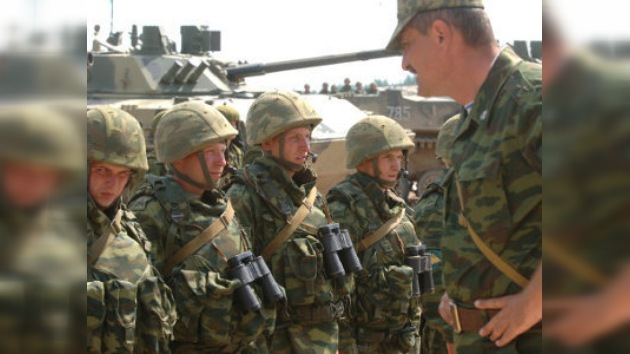 Cae el número de casos violentos en el Ejército ruso