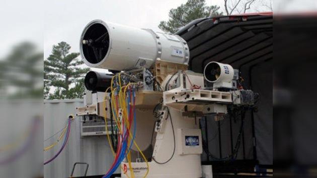 La Armada de EE. UU. pronto podría equipar sus naves con láseres