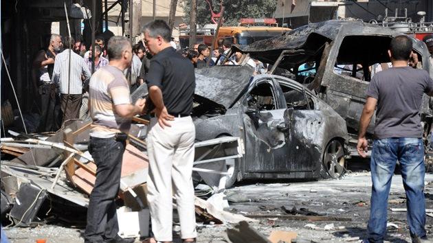Al menos seis muertos y 22 heridos en un atentado en Damasco