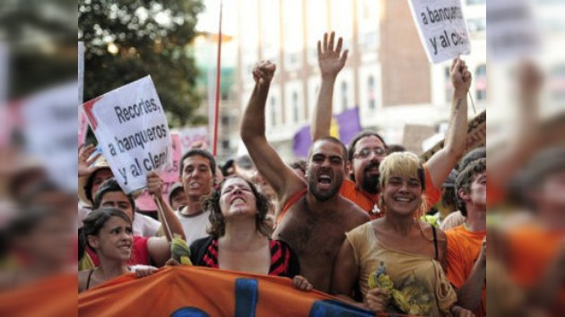 Madrid, capital de los indignados
