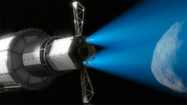 ¿Para qué pretende la NASA acercar un asteroide a la Tierra?