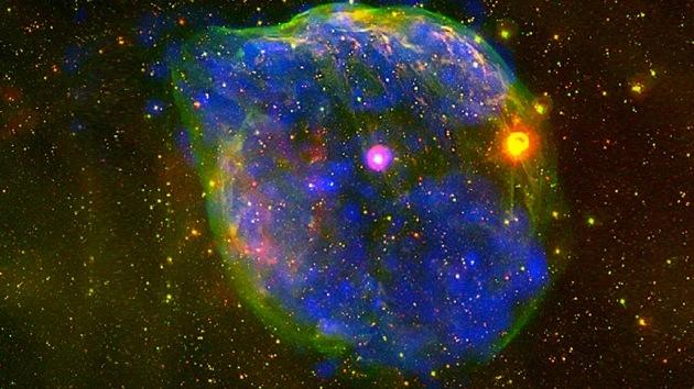 Broma espacial de Halloween: encuentran un rostro fantasmal en el cosmos