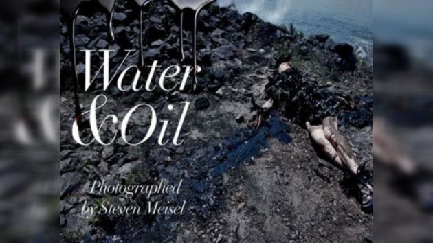 'Water & Oil' del Vogue Italiano: ¿glamour con conciencia o con cinismo?