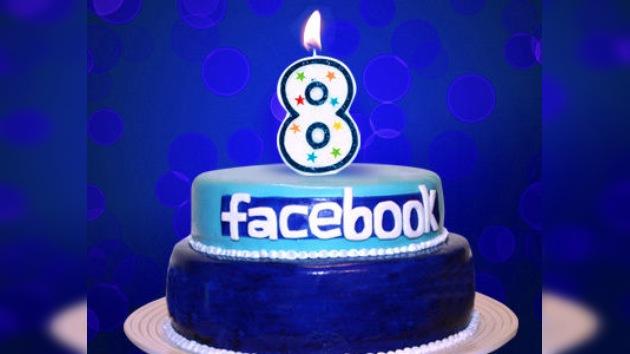 Facebook cumple 8 años