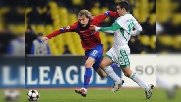 CSKA vence al Wolfsburg y sigue vivo en la Champions
