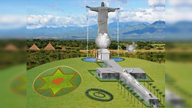 En Colombia avanza la construcción del Cristo Redentor más grande del mundo
