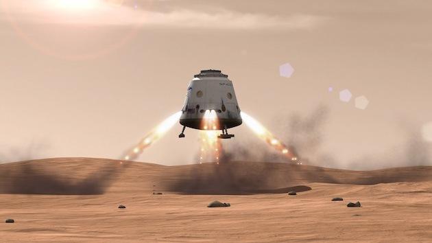 El fundador de SpaceX idea una colonia en Marte para 80.000 personas