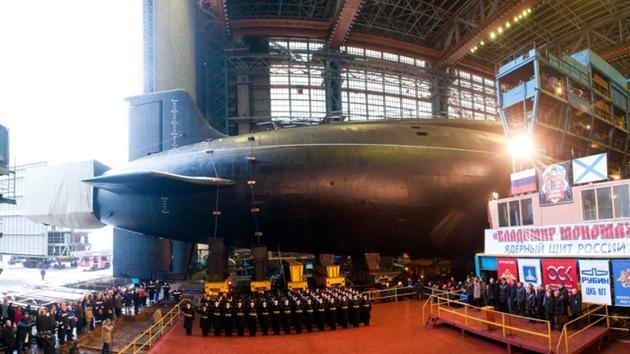Comienzan las pruebas del tercer submarino estratégico ruso del proyecto Boréi