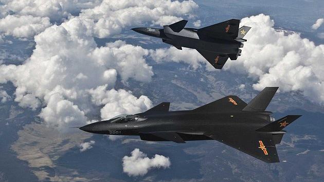 China desplegó aviones de combate en su nueva zona de defensa aérea