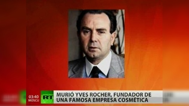 Fallece Yves Rocher, el creador de la 'cosmética vegetal'
