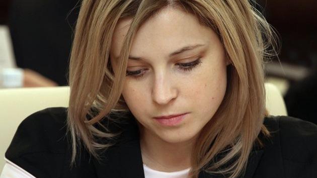 Natalia Poklónskaya, la bella fiscal de Crimea, sancionada por Japón