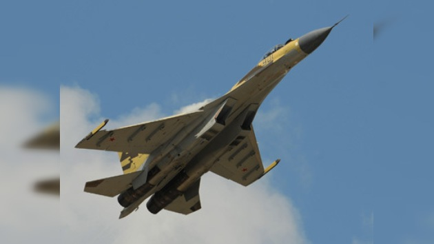 El caza ruso Su-35 demuestra su supremacía sobre modelos similares extranjeros