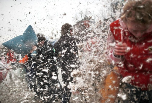 Flashmobs a la rusa