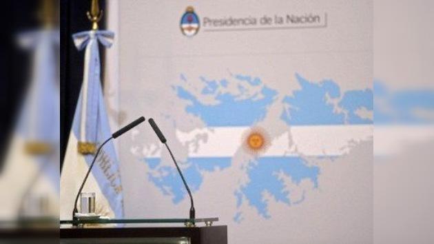 Argentina demandará a las empresas que explotan petróleo en las islas Malvinas