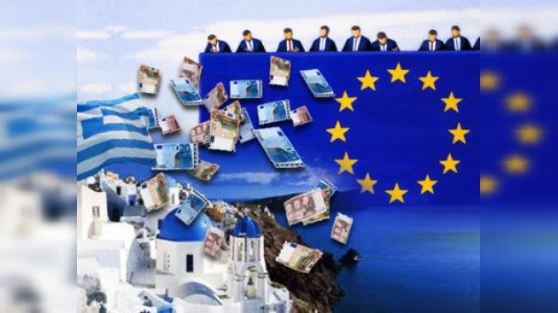 La UE acuerda ayuda para Grecia