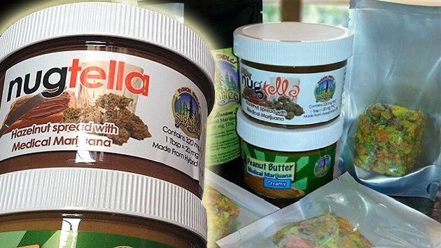 ¿Nutella o Nugtella? Una crema de chocolate con marihuana se cuela en el supermercado