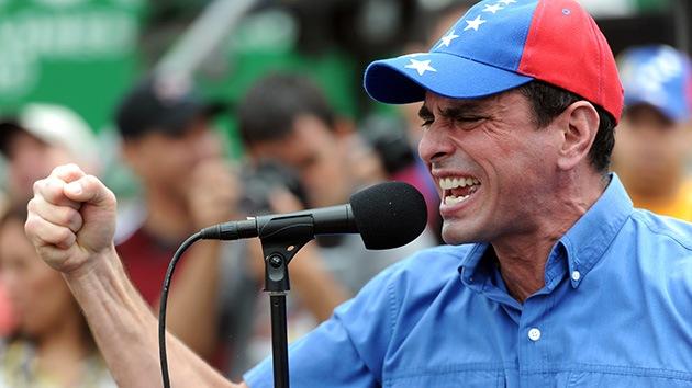 Capriles dice que está listo para su posible arresto tras ser acusado de corrupción