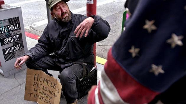 En EE.UU. ya hay tantos pobres como en 1965