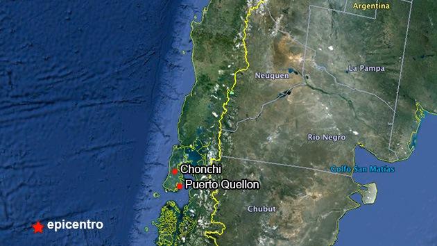 Un sismo de escala 6,8 sacude el oeste de Chile