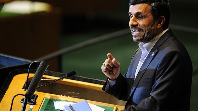 Ahmadineyad habla ante la ONU