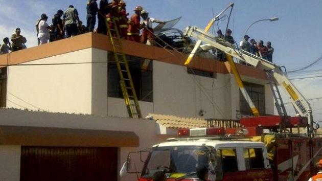 Se estrella en Perú un helicóptero policial