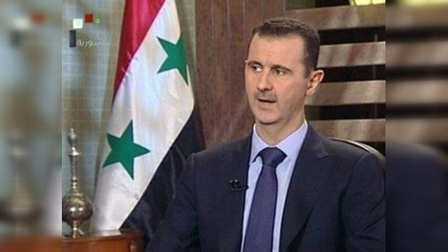 Bashar al-Assad descarta abandonar el poder