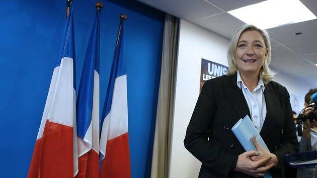 """Marine Le Pen: """"La Unión Soviética Europea tiene que desmoronarse"""""""