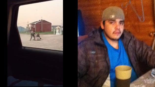Video: Graban una brutal agresión de dos policías a un joven nativo en Canadá