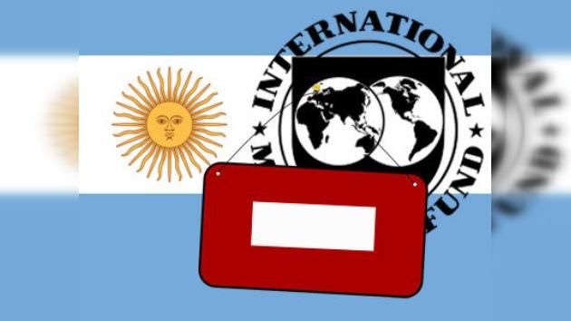 El FMI 'rompe' relaciones con Argentina