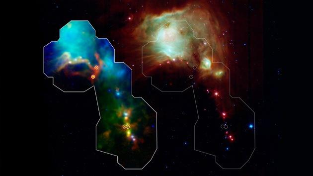 Descubren las estrellas más jóvenes jamás observadas