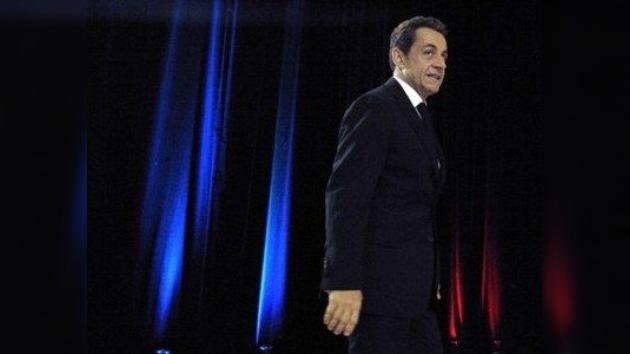 """Sarkozy: """"Afronto el final de mi carrera"""""""