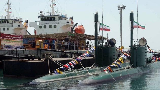 Irán botará en agosto su primer submarino semipesado