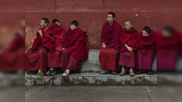 Una monja tibetana se inmola con fuego en plena calle