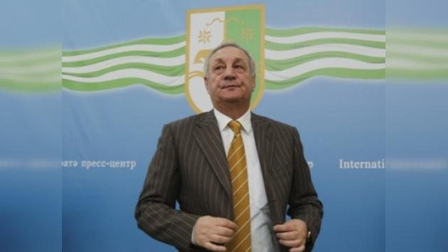 Serguéi Bagapsh juró su cargo de presidente de Abjasia