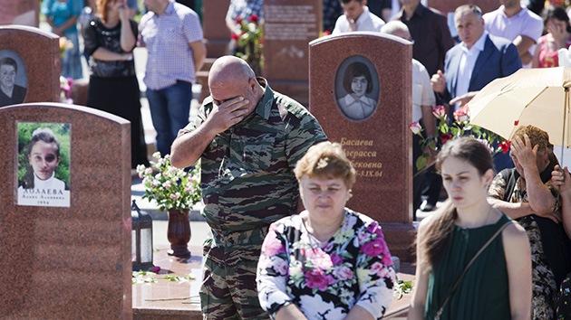 Septiembre negro: Rusia recuerda la masacre en la escuela de Beslán