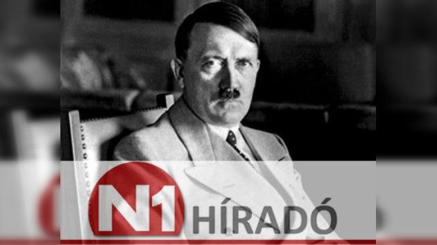 Una televisión húngara ensalza la figura de Hitler en el aniversario de su nacimiento