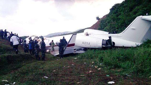 Al menos 30 víctimas mortales en un accidente aéreo en el Congo