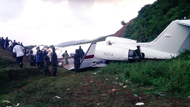 Accidente aéreo en el Congo