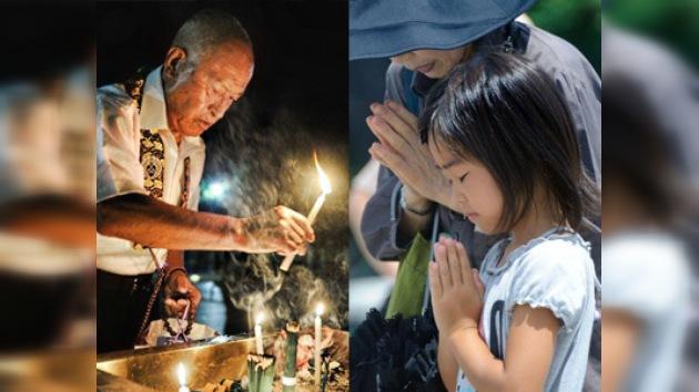 Japón llora en el 66º aniversario de Hiroshima con la crisis nuclear en el aire
