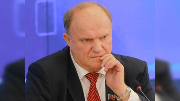 El líder comunista ruso: la crisis muestra la ineficacia del capitalismo americanizado
