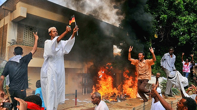 Asalto de las embajadas occidentales en Sudán